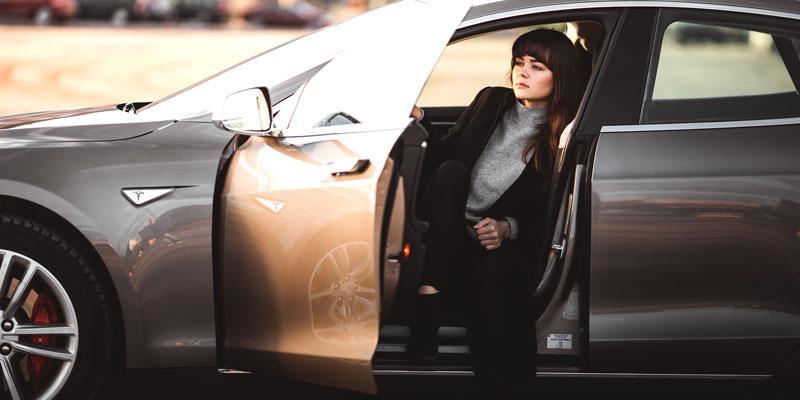 car shopper, auto shopper, ev shopper, Tesla, in market car buyer, domestic, luxury, electric vehicle, EV, Trigger Direct