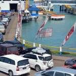 Pelabuhan Bakauheni Stop Seberangkan Penumpang ke Merak