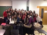 Telémacas y mentoras de la ETSEM, participantes en el 1er Programa de Mentorías TRIGGER.
