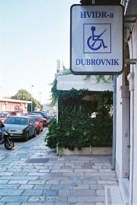 Bizarre signage in Croatia