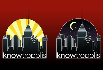Knowtropolis Logo Design