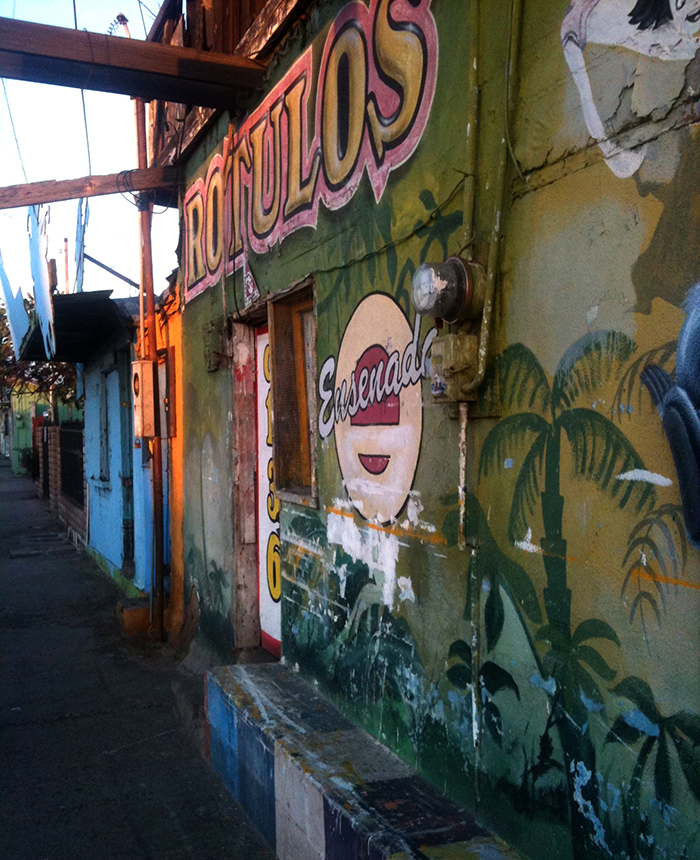Buildings in Ensenada