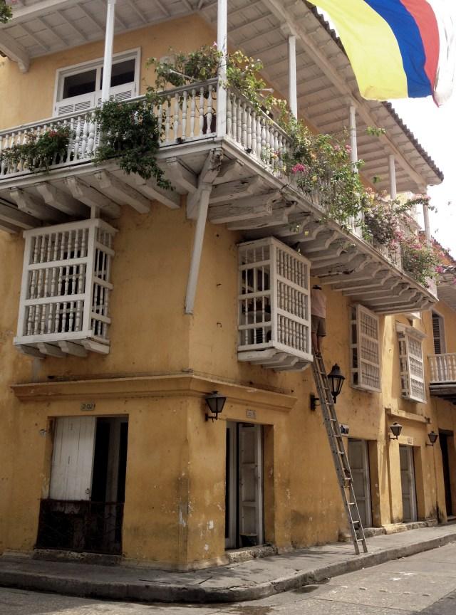 Cartagena balcony