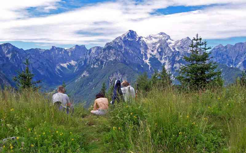 Active holiday in the Julian Alps