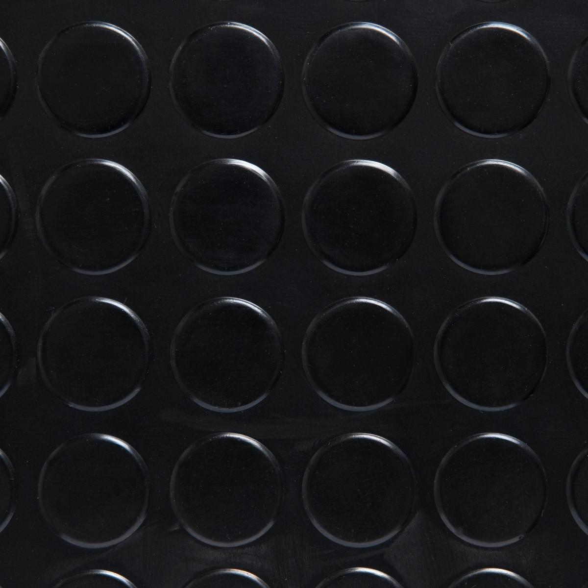 17de6011874 Pavimento caucho círculos. Suelo de goma de 3 mm de espesor en rollos