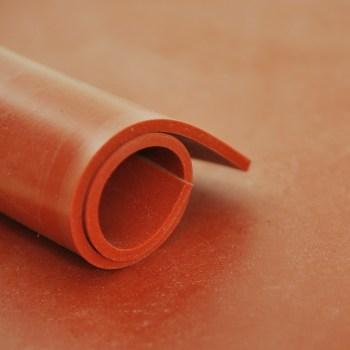 Plancha de caucho silicona