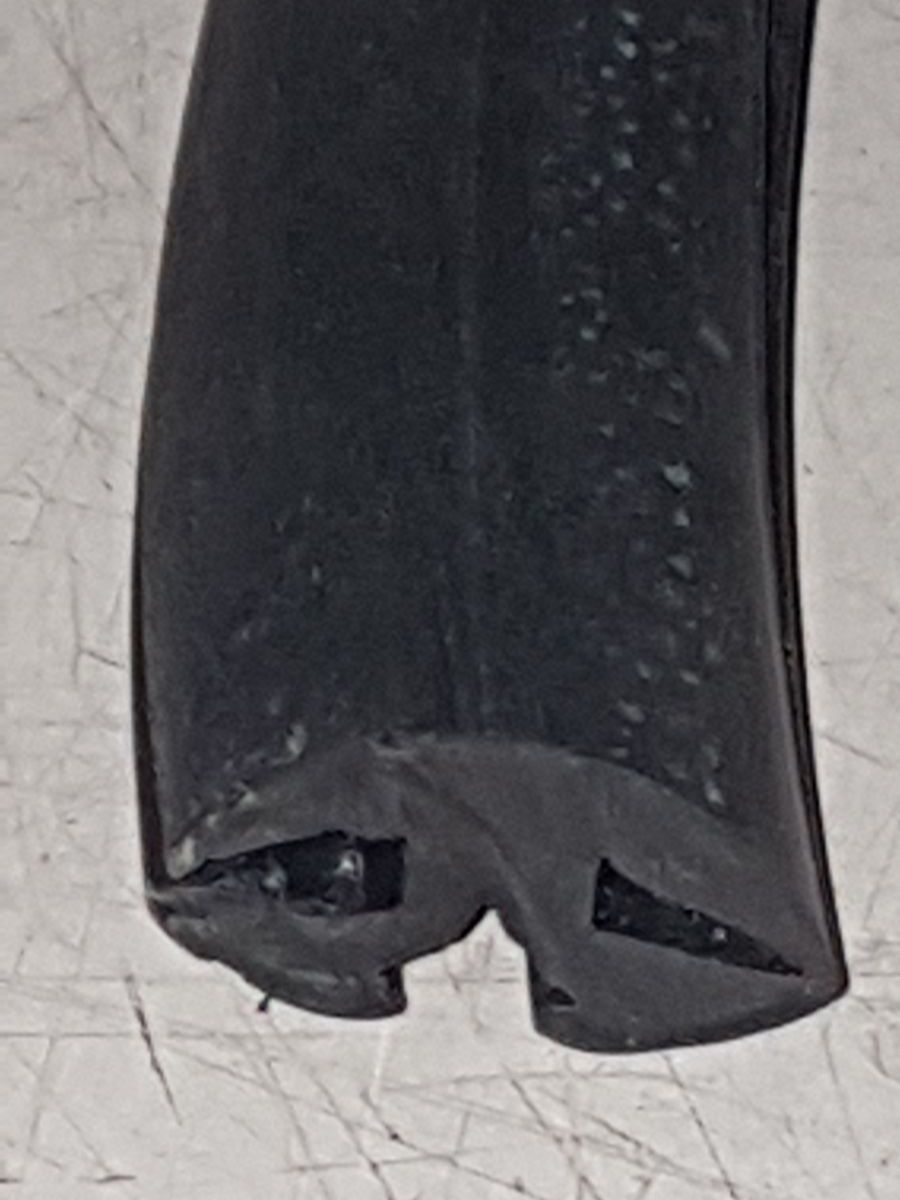 perfil de goma cangrejo