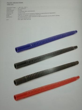 tubo de silicona para motor