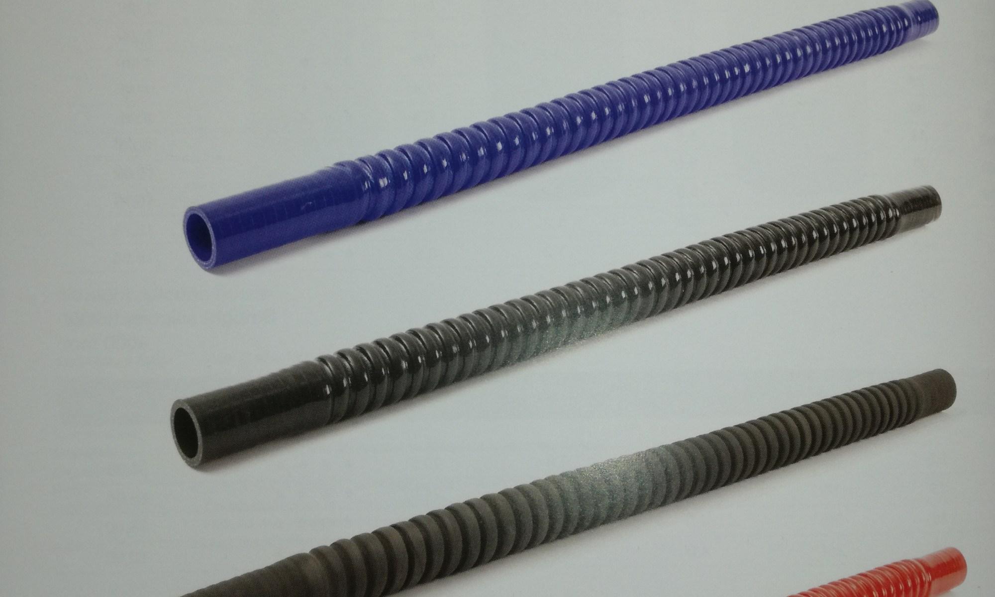 tubo de caucho de silicona