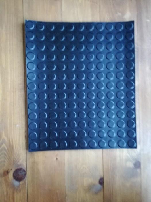 suelo de goma de círculos