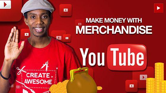 Cara Youtubers Mendapatkan Uang - Menjual Merchandise