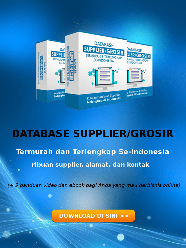 database supplier terlengkap indonesia