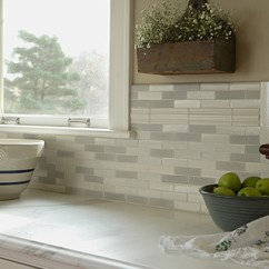 Kitchen Backsplash Trim Ideas Nooks Kitchens | Trikeenan Tileworks - Handcrafted Ceramic Tile