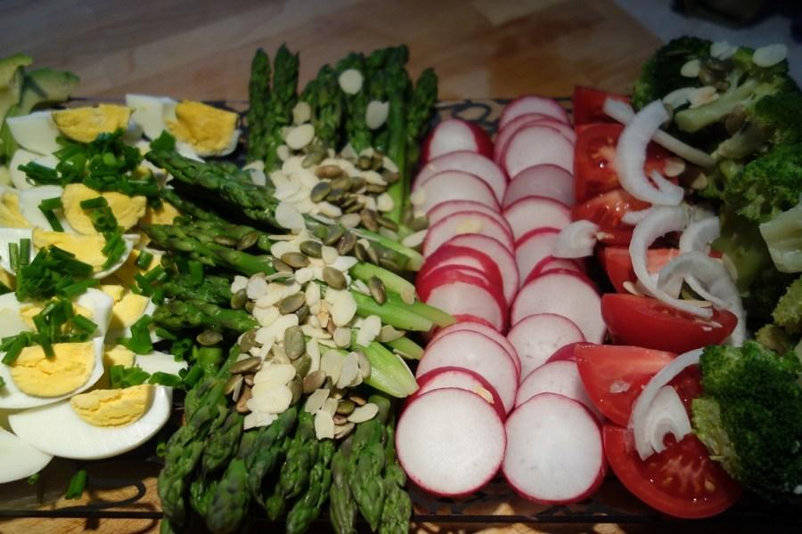Warzywa do grilla