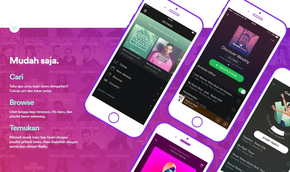 Cara Daftar dan Menggunakan Layanan Spotify di Windows