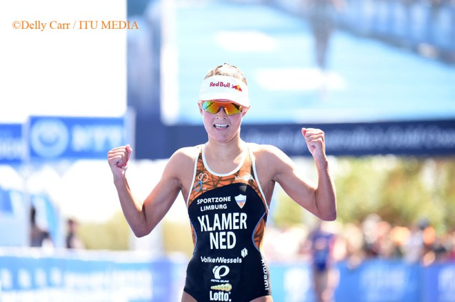 Rachel Klamer finish Gold Coast Delly Carr