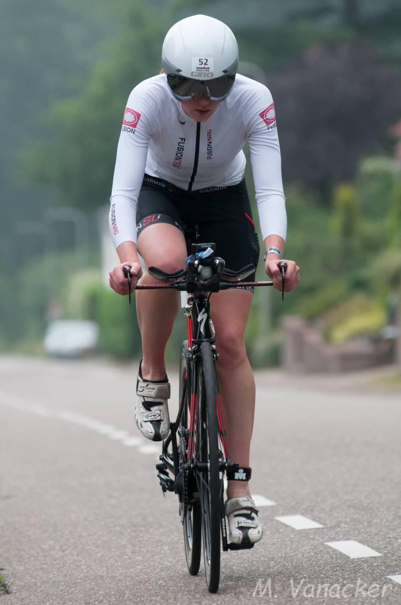 Sarissa De Vries fiets Mario