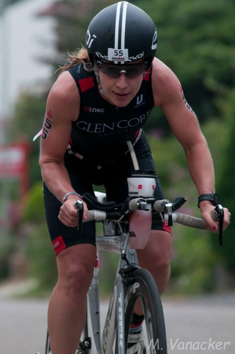 Tineke van den Berg fiets Maastricht Mario
