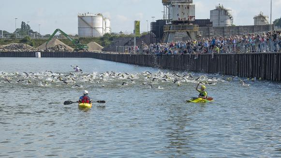 Triathlon gestart
