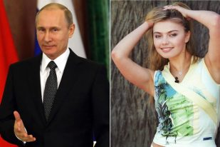 Alina Kabaeva and Putin