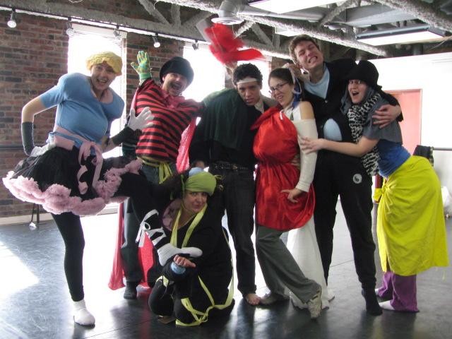 World Theatre Day Bouffons!