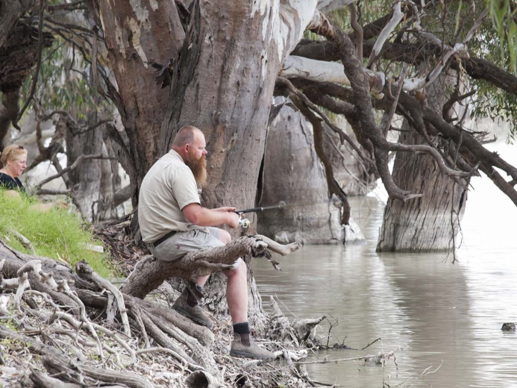 Outback Activities | Darling River Fishing