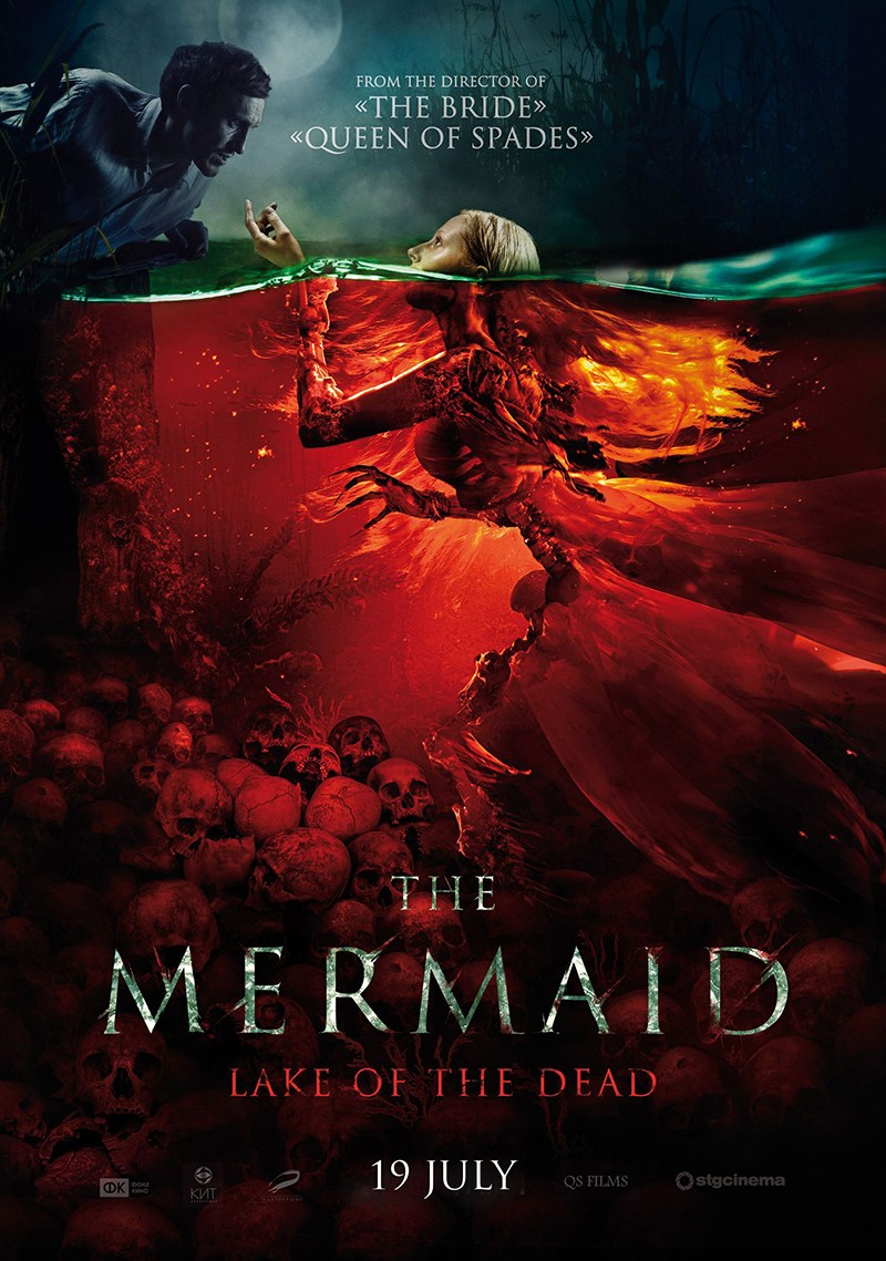 'The Mermaid: Lake of the Dead' traz sereias das trevas | Assista ao Trailer