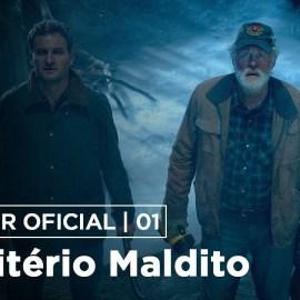 Primeiro trailer e poster do novo Cemitério Maldito baseado na obra de Stephen King