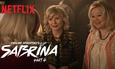 """As Tias de Sabrina dos anos 90 aparecem em """"O Mundo Sombrio de Sabrina"""""""