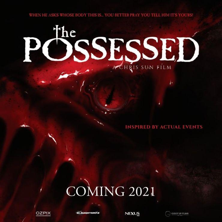 """Inspirado em Histórias Reais de Possessões Demoníacas e Exorcismos - Teaser do Terror """"The Possessed""""."""