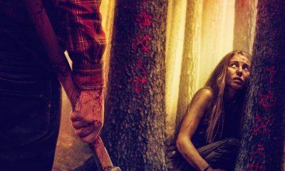 "Novos pôsteres do reboot de ""Wrong Turn - Pânico na Floresta"" cartazes"