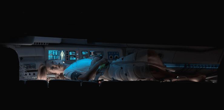 Mulher Acorda em Câmara Criogênica no Novo Filme de Alexandre Aja
