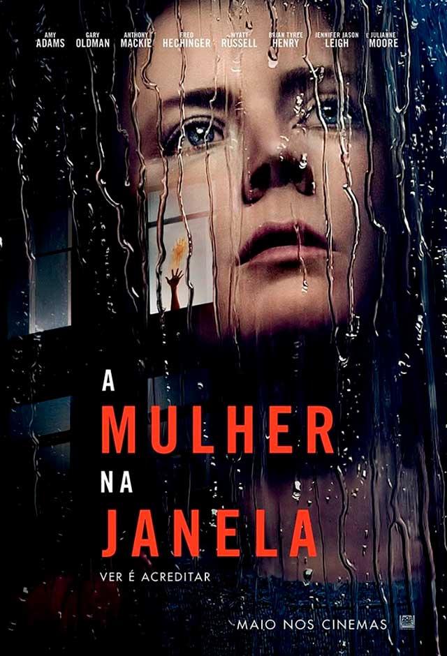 a mulher na janela cartaz lançamento na Netflix