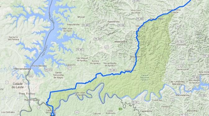 Ciclovia de 160 km vai ligar Cascavel a Foz do Iguaçu