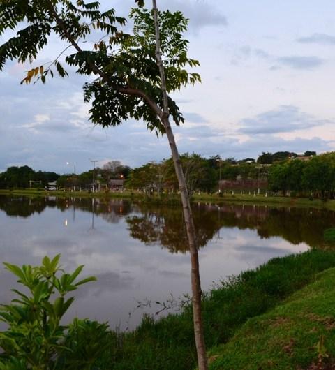 Lago municipal de Iretama