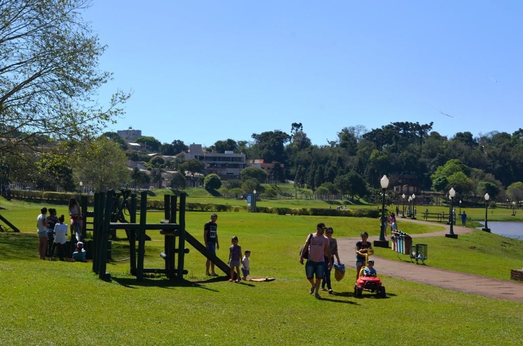Conheça o Parque do lago de Campo Mourão