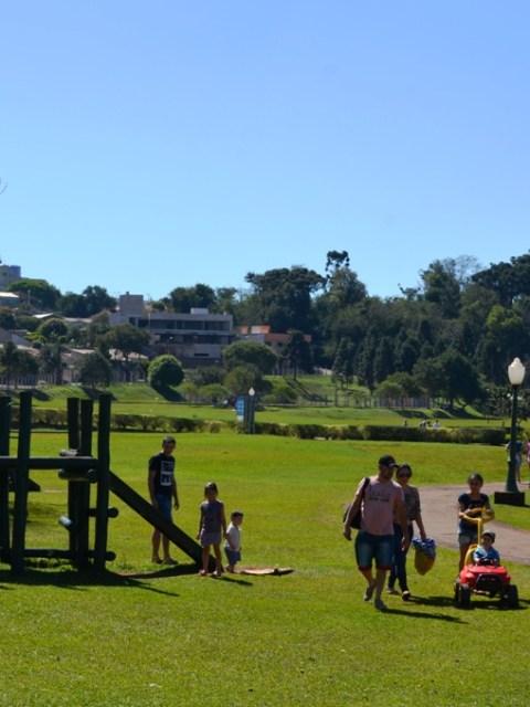 Parque do lago em Campo Mourão