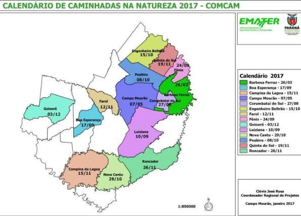 Caminhadas na Natureza Emater. Fonte: Emater/Jairo Quadros