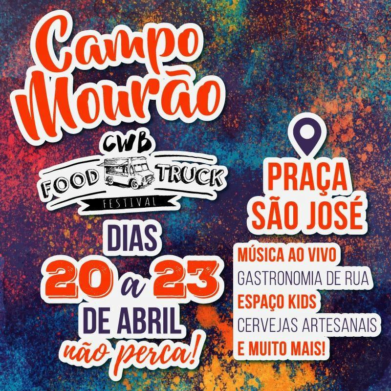 IV Festival CWB de Foodtrucks em Campo Mourão