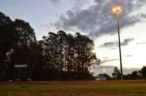 Trevo de acesso a Mamborê