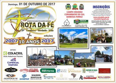 ROTA DA FE agosto 2017