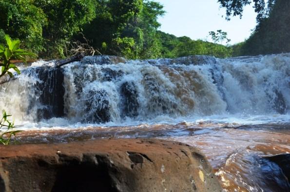 Cachoeira em Campina da Lagoa