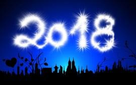 Feliz 2018 - Foto: Pixabay