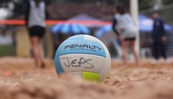 Jeps 2018 - Fase Final A  Definidos os duelos das semifinais do Vôlei de  Praia b2f76d317f0c1