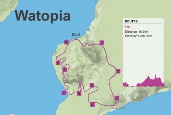 Zwift Watopia Flat
