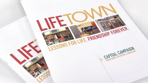 LifeTown Capital Campaign Brochure Design From Trillion