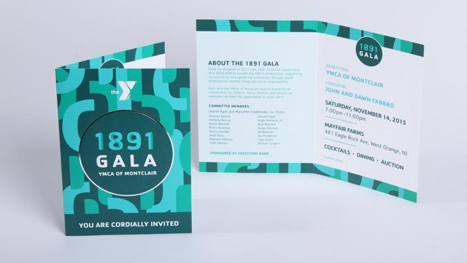 YMCA Of Montclair 1891 Gala Event Branding Amp Design