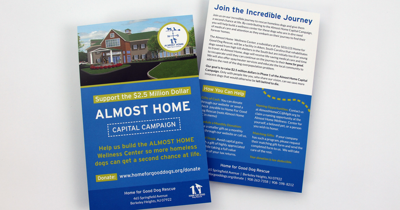 Capital Campaign Brochure Design Trillion Creative