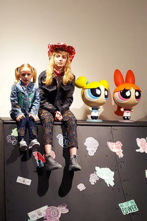 Katie Eary X The Powerpuff Girls collaboration