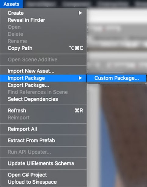Installing a custom package